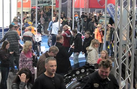 Vollgas zur Leipziger Motorradmesse