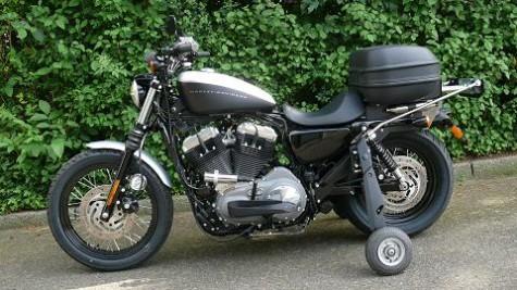 Beispiel für einen Motorrad-Umbau
