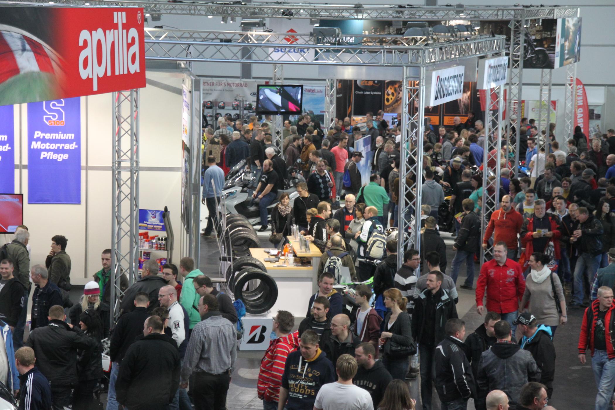 Motorradmesse Leipzig 2015 im Überblick