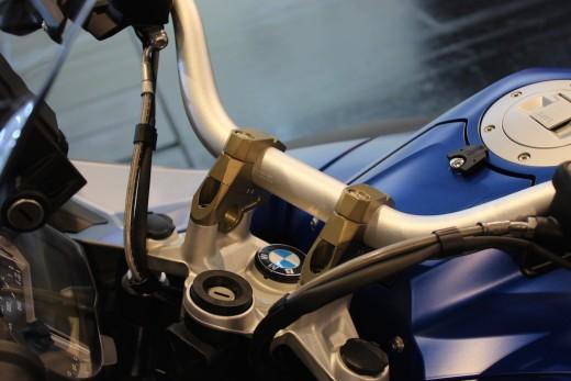 Gilles Tooling Klemmböcke BMW R1200GS