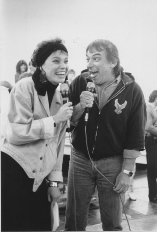 85 Stefanie Tücking und Eric Burdon
