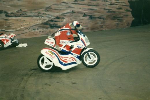 MotorradfahrenderHund