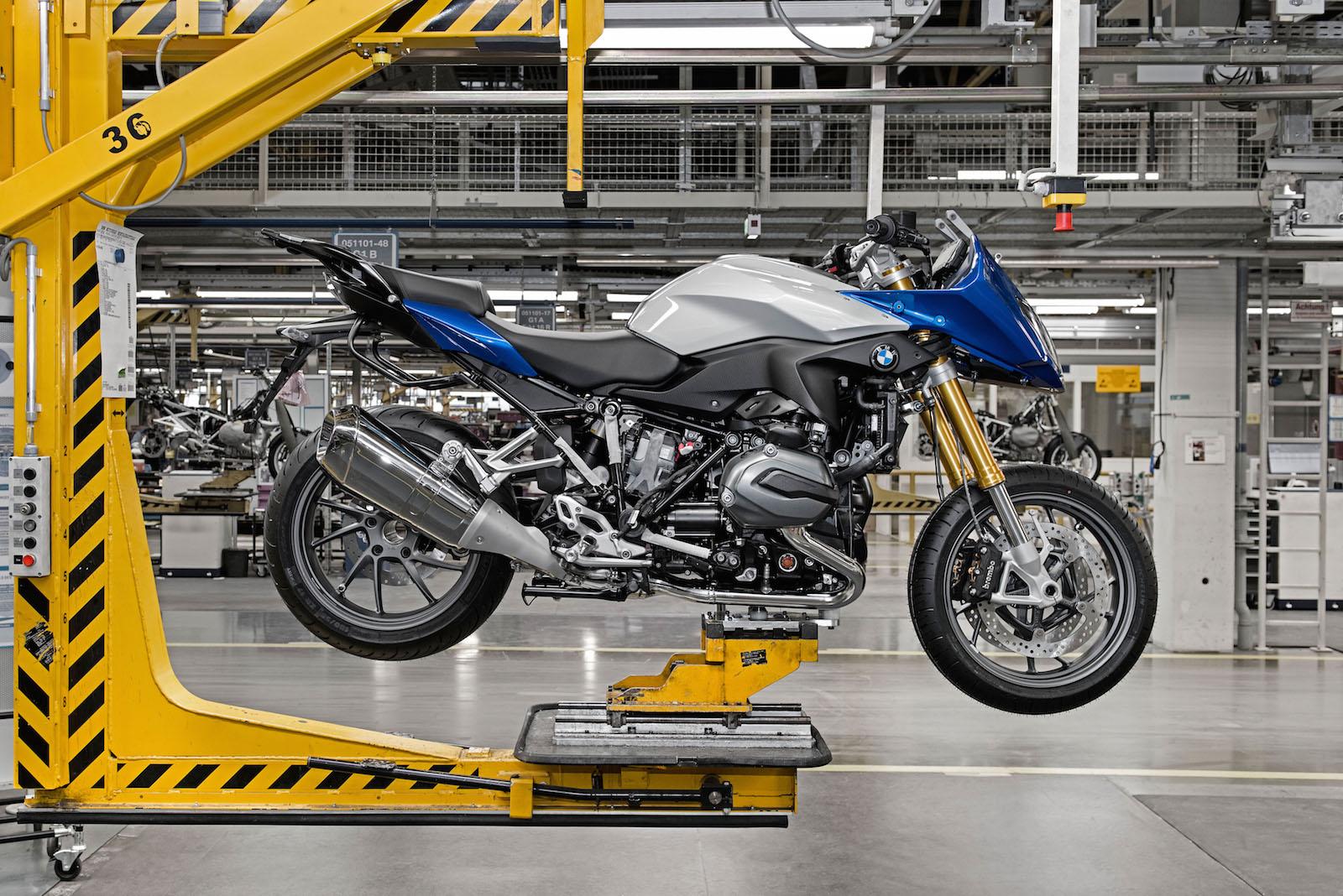 BMW Motorrad startet Produktion der R 1200 RS
