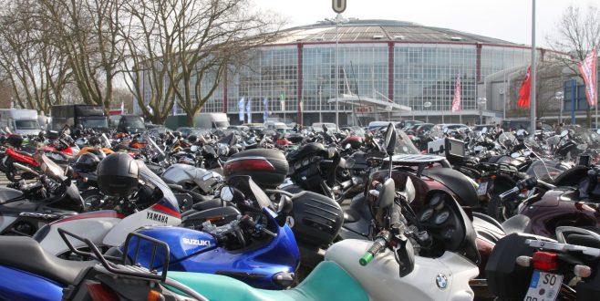 Dortmunder Westfalenhallen 2018 fast exklusiv für Motorräder