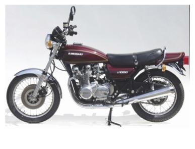 40 Jahre Kawasaki Z1000