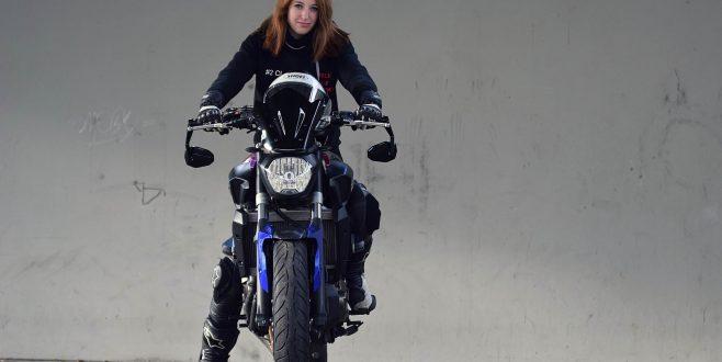 Cathrin ist unser Insta-Girl für die MOTORRÄDER DORTMUND