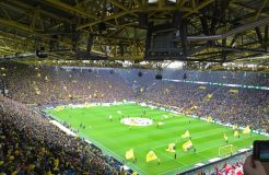 Volles Stadion in Dortmund